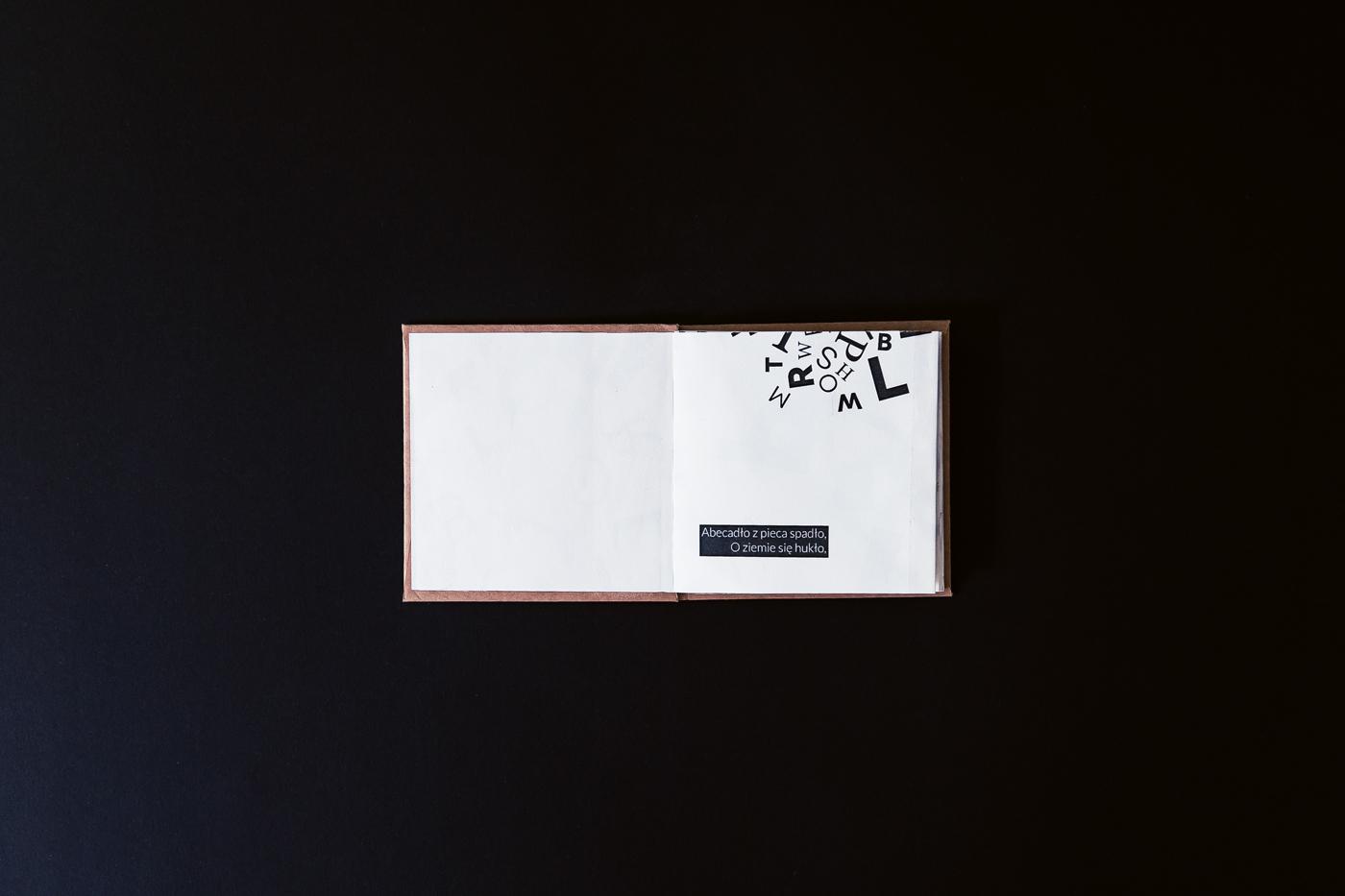 book typography   poem print handmade letters alphabet art words editorial