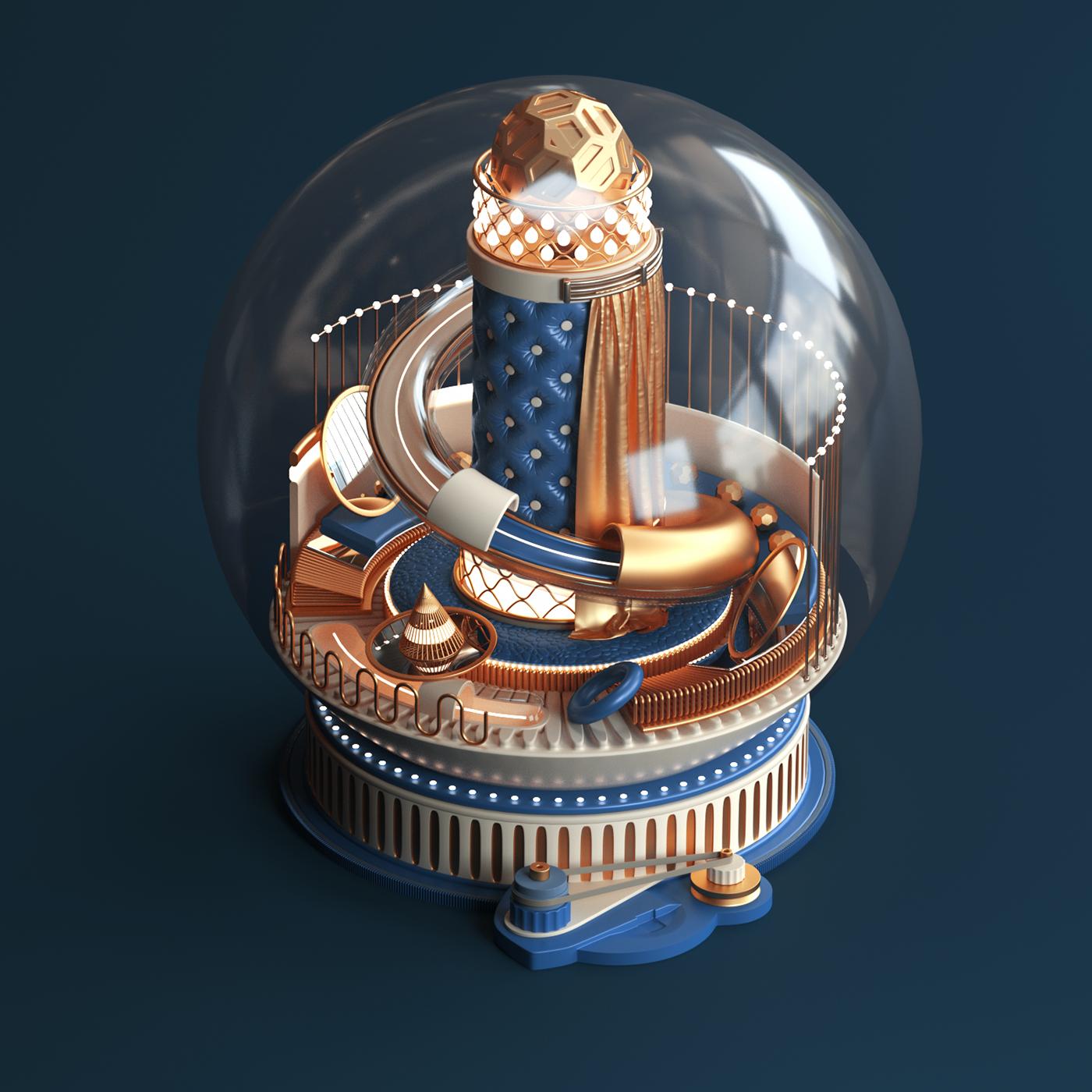 Fashion  xmas Christmas design snowball JVG Tarka 3D CGI krol