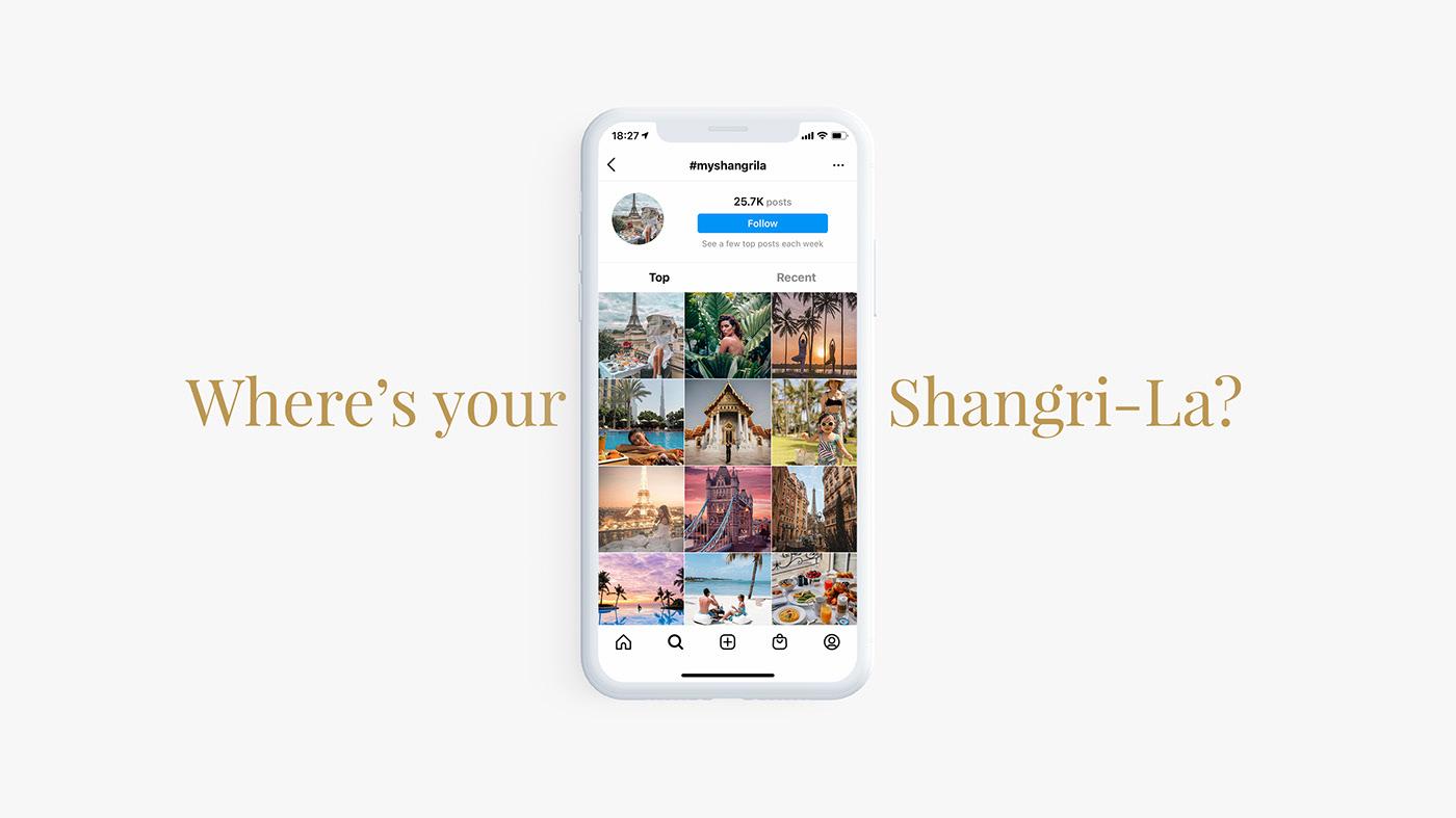 content hotel hotels moments Resorts shangrila social UGC
