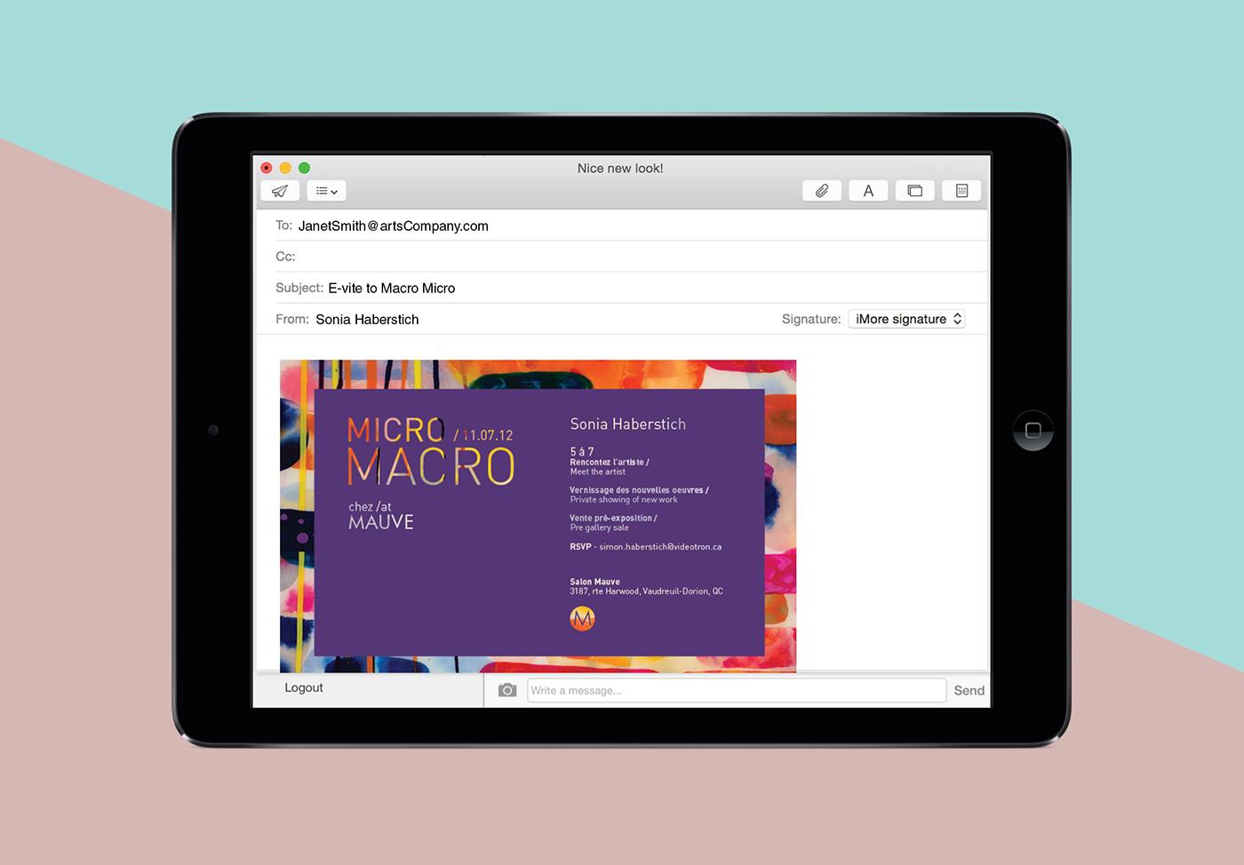 Vellum invitations e-vitation Website Booklet identity business card promotional material
