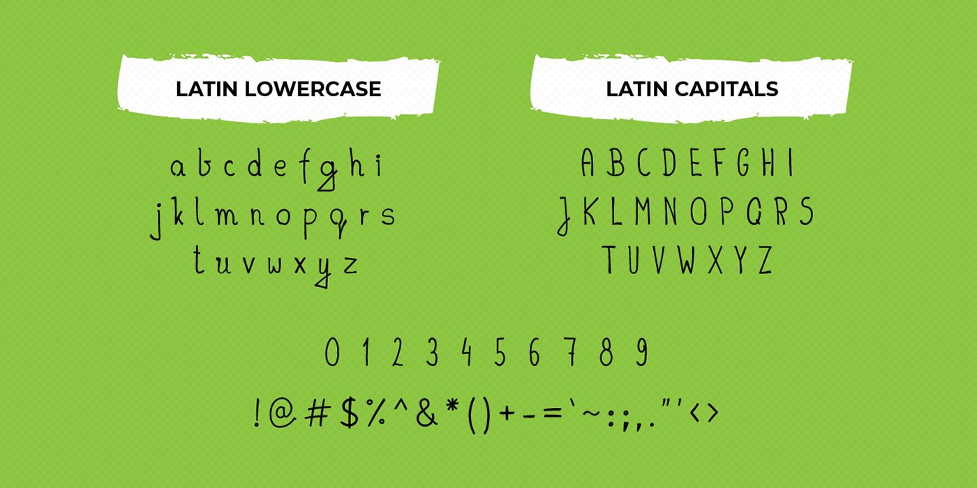 font hand drawn handdrawn sans serif handwritten