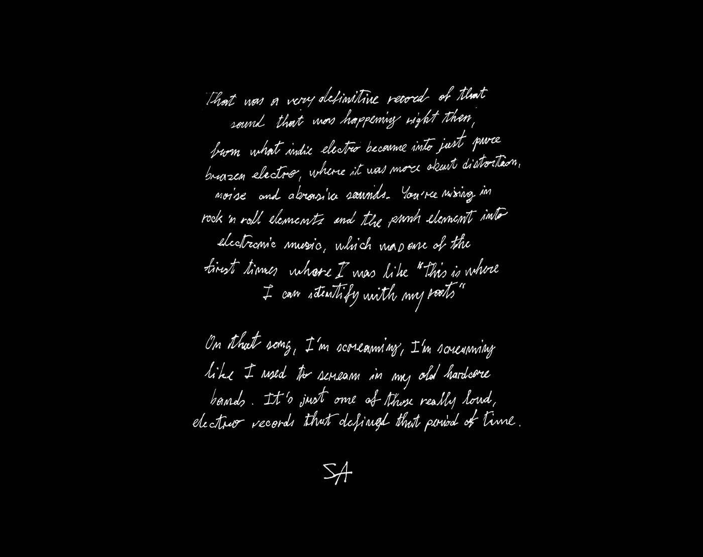 Monochrome Album Design for WARP - Steve Aoki and cie