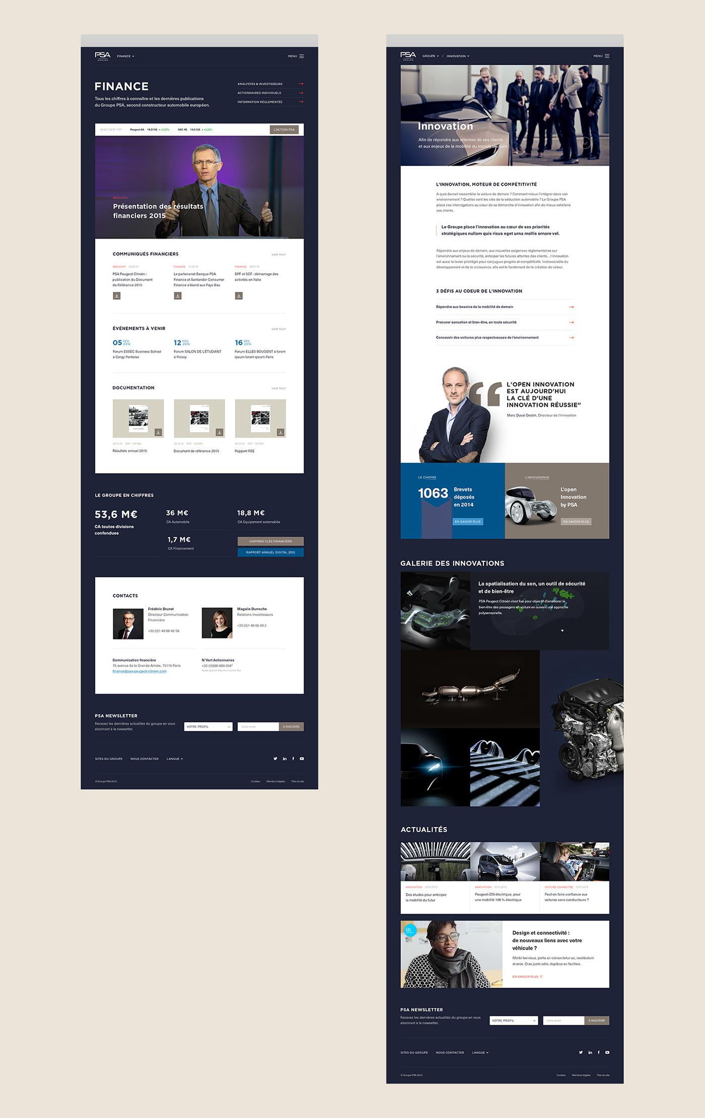 automotive   car corporate citroen PEUGEOT DS industry branding  finance Motoring