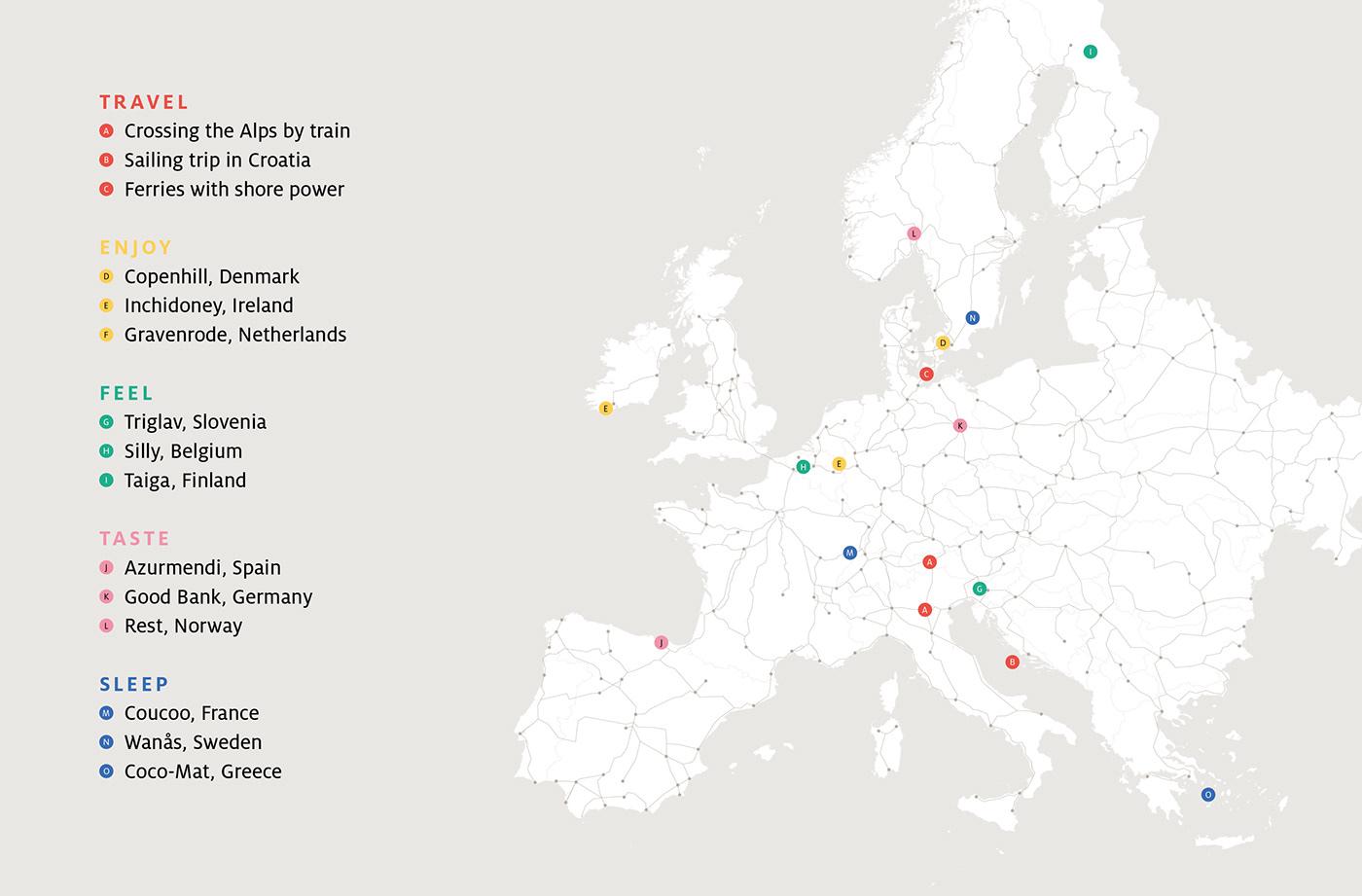 eco EU Europe holidays Slow Travel Sustainability tourism tourist Travelling