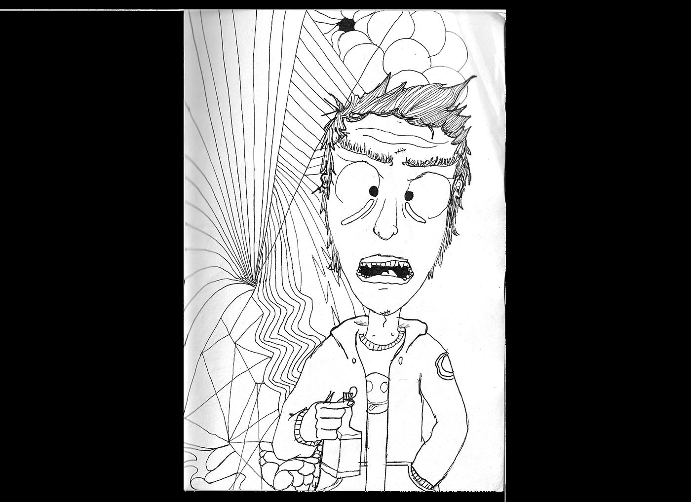 Sketch Book 2010 2013 On Behance
