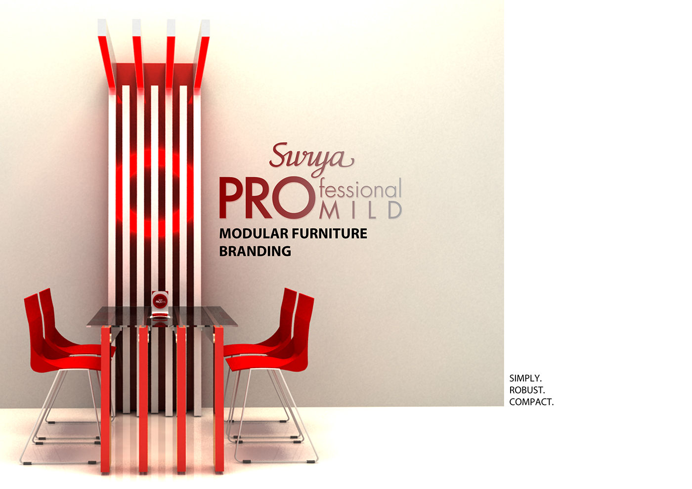 Foldable Wall Furniture On Behance Surya Pro Mild