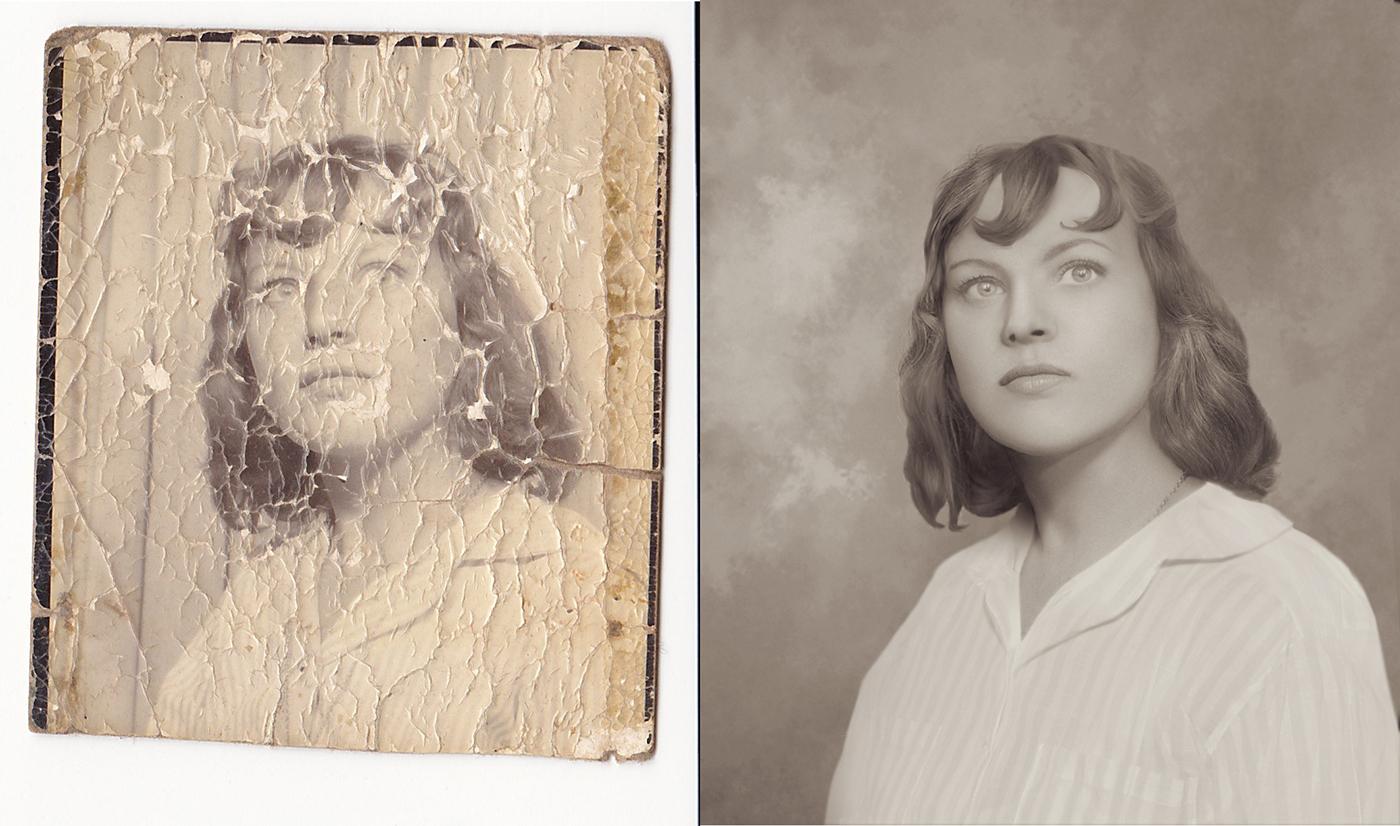 можно старую фотографию увеличить семейные фотографии это