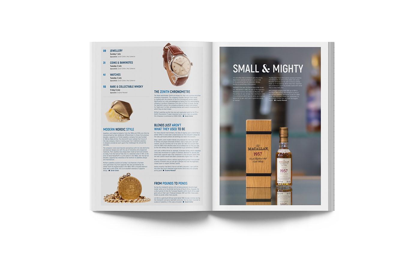 print design  Catalogue editorial magazine page layout graphic design  print design
