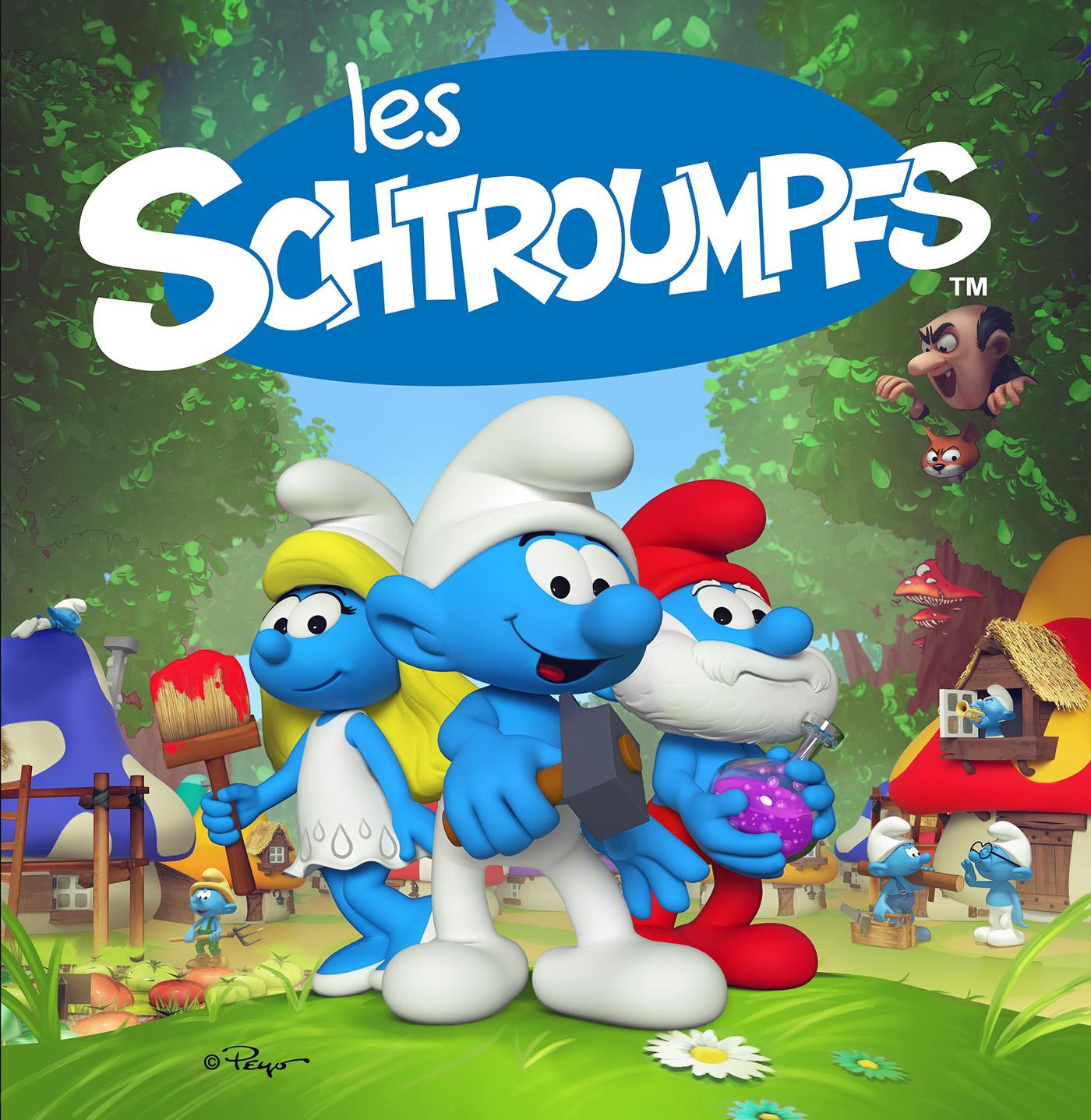 Schtroumpfs,smurfs,Peyo,game,Comic Book,bd,video game,cartoon,ubisoft,blue