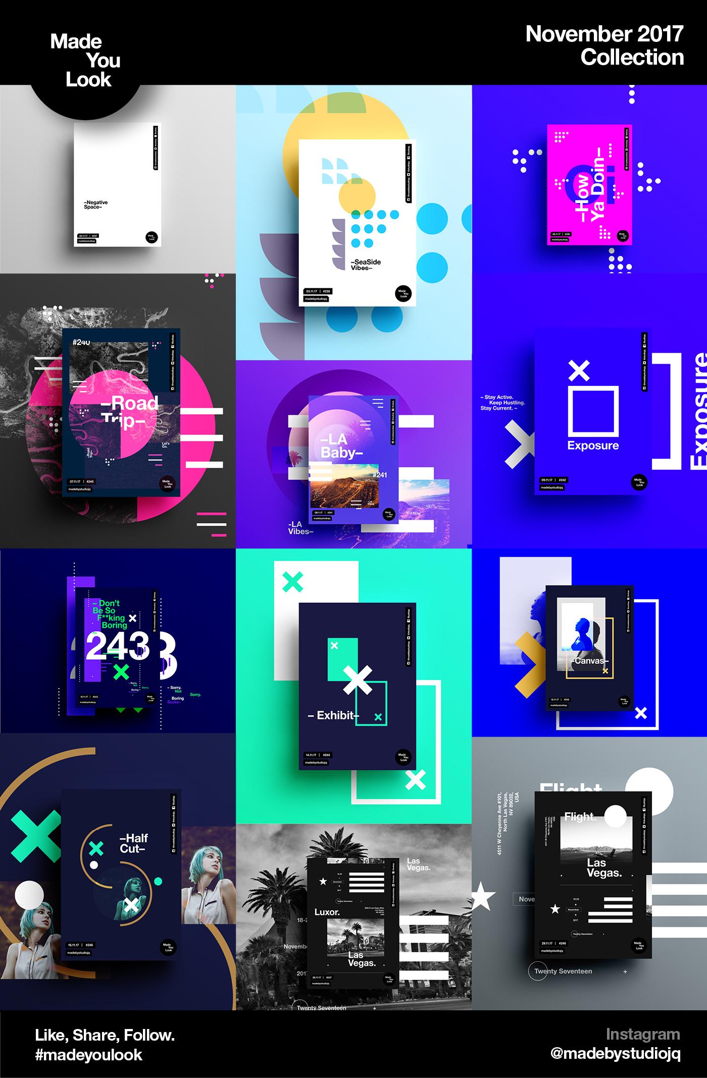 poster posters TwentySeventeen brand Self Promo type