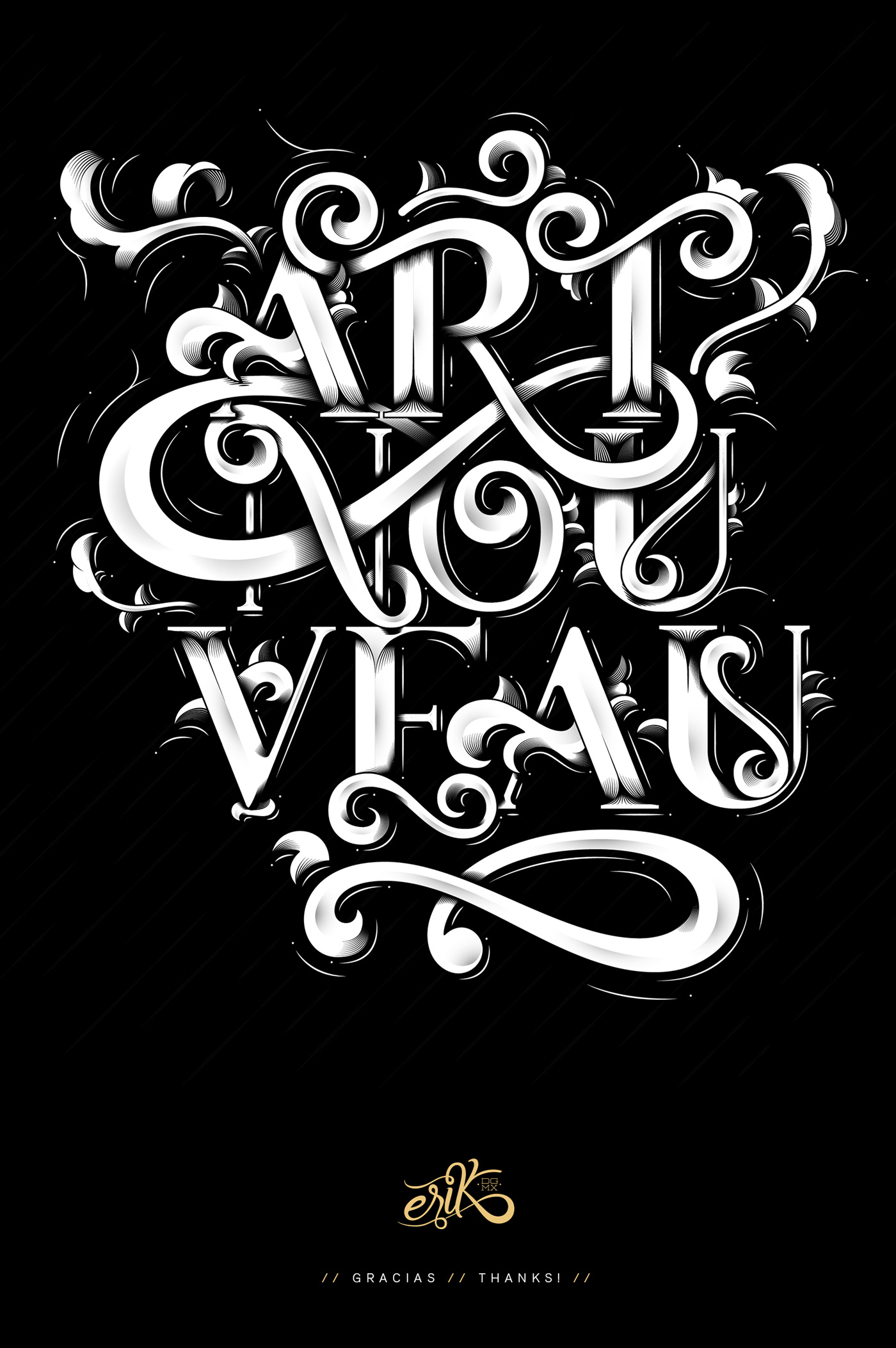 Image may contain: typography, poster and drawing