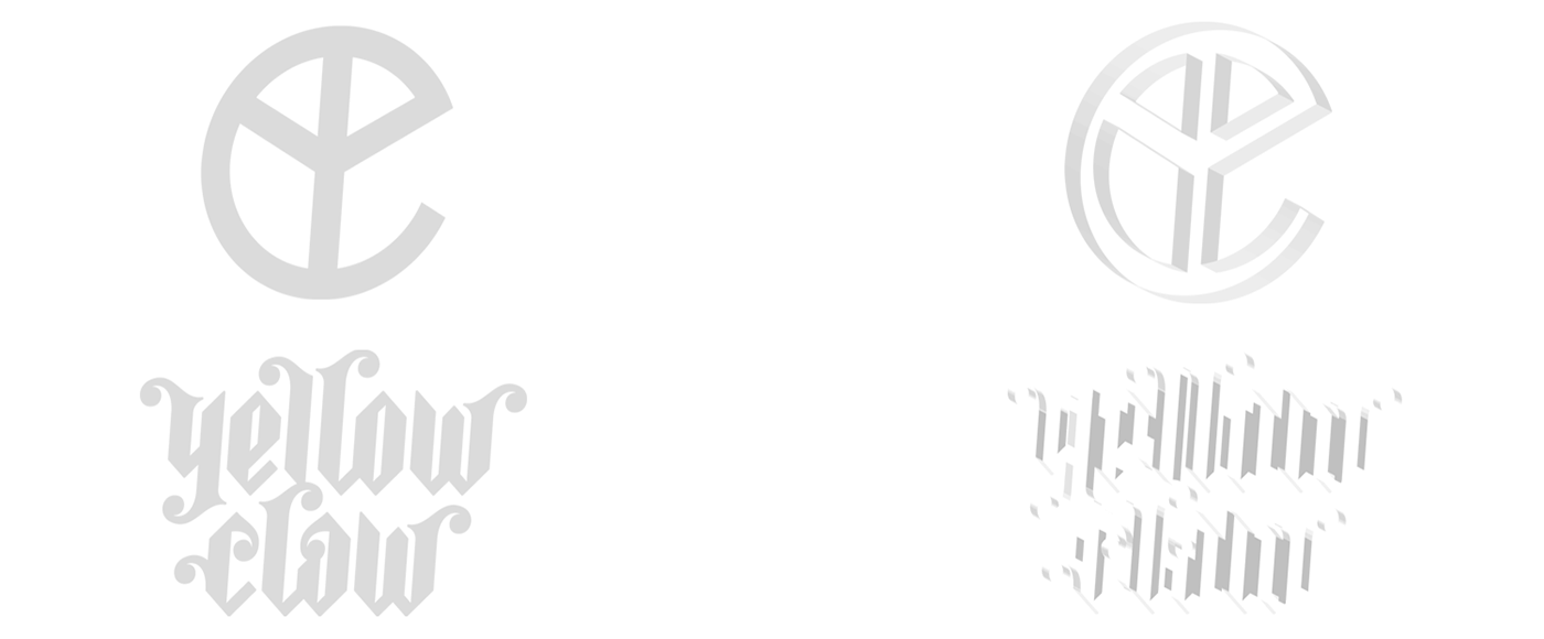 yellow m.f. claw 4k wallpaper on behance