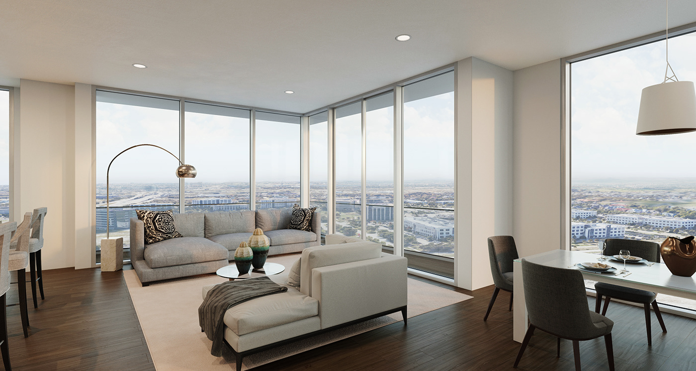 Luxury Apartment with views