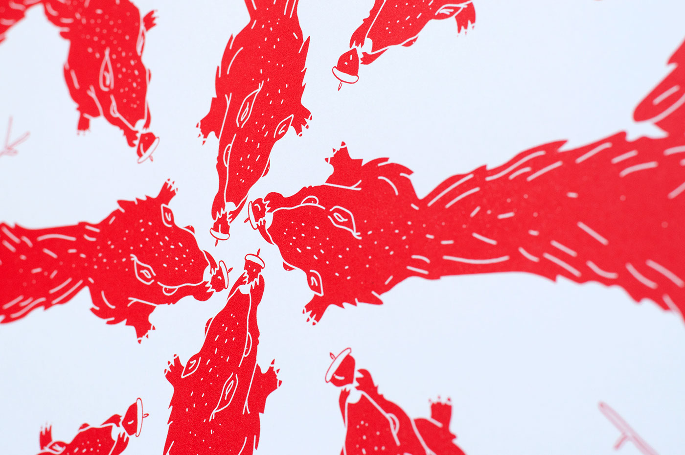 Montreal,vector,bref,Exhibition ,Drawing ,red,celebration
