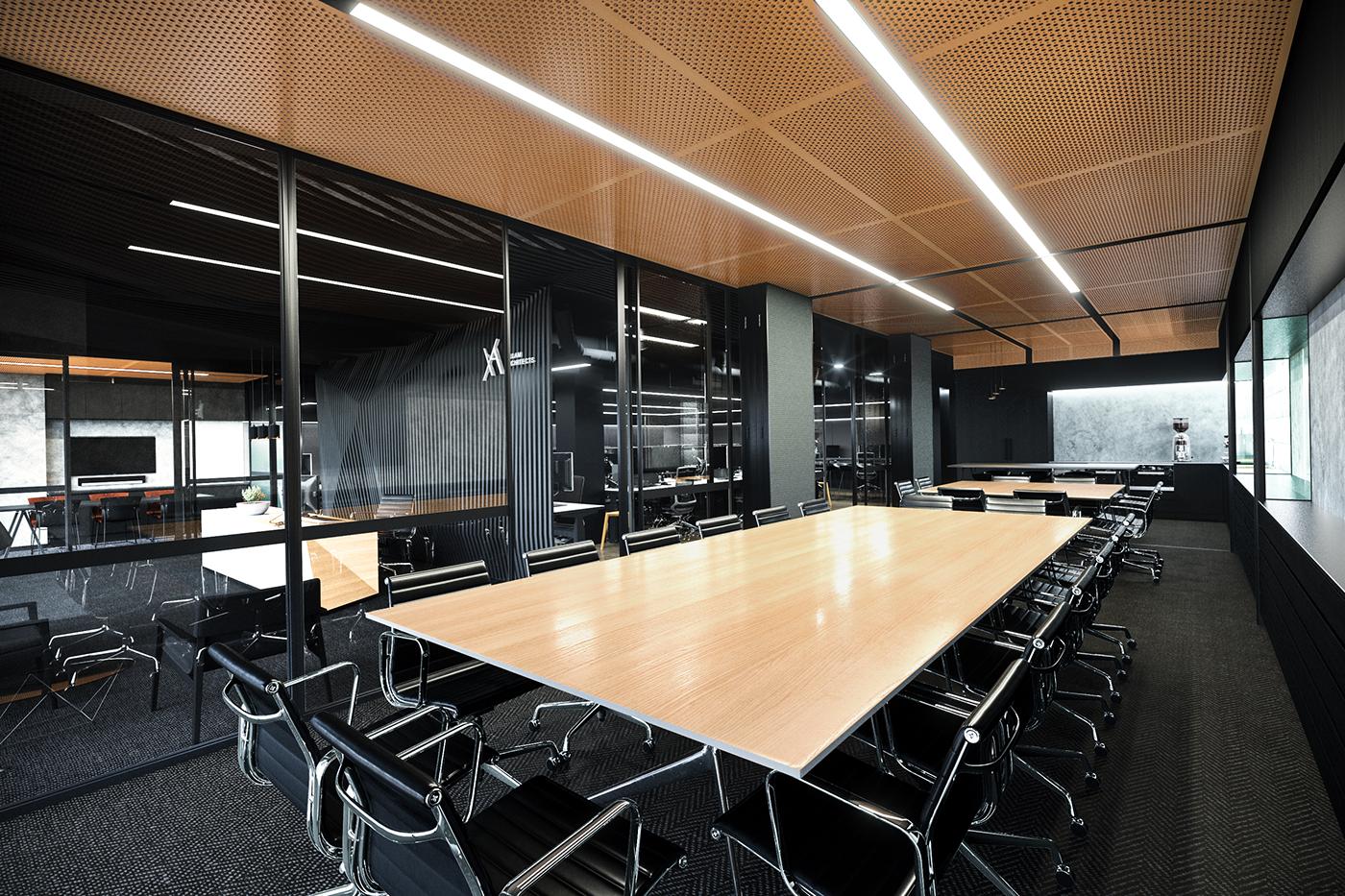 高質感的47套辦公室設計欣賞