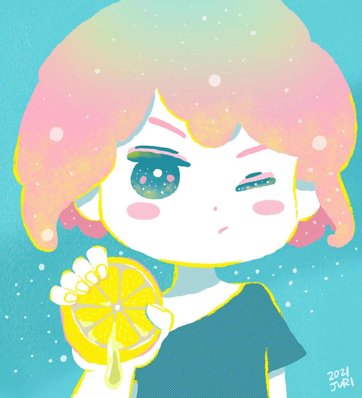 boy ILLUSTRATION  lemon