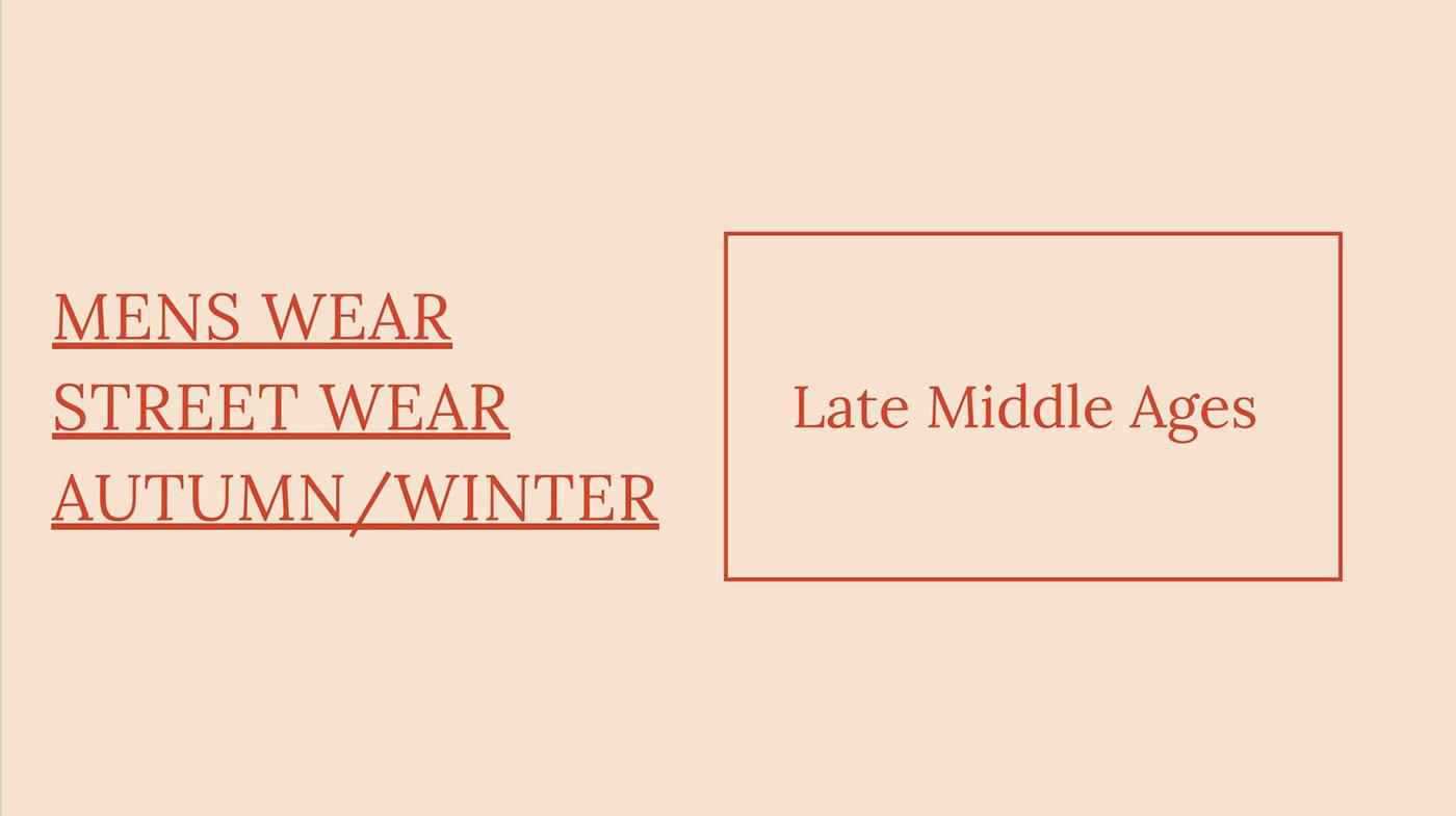 adobe Fashion  fashion design fashion illustration Late middle ages