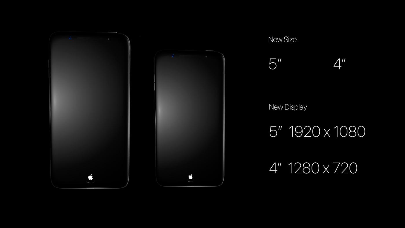 iphone 8 Concept for iPhone Design iPhone 8 Product design Apple Design new iPhone 3D design iPhone Animation iPhone 8 product design  Visualization interaction design promo design