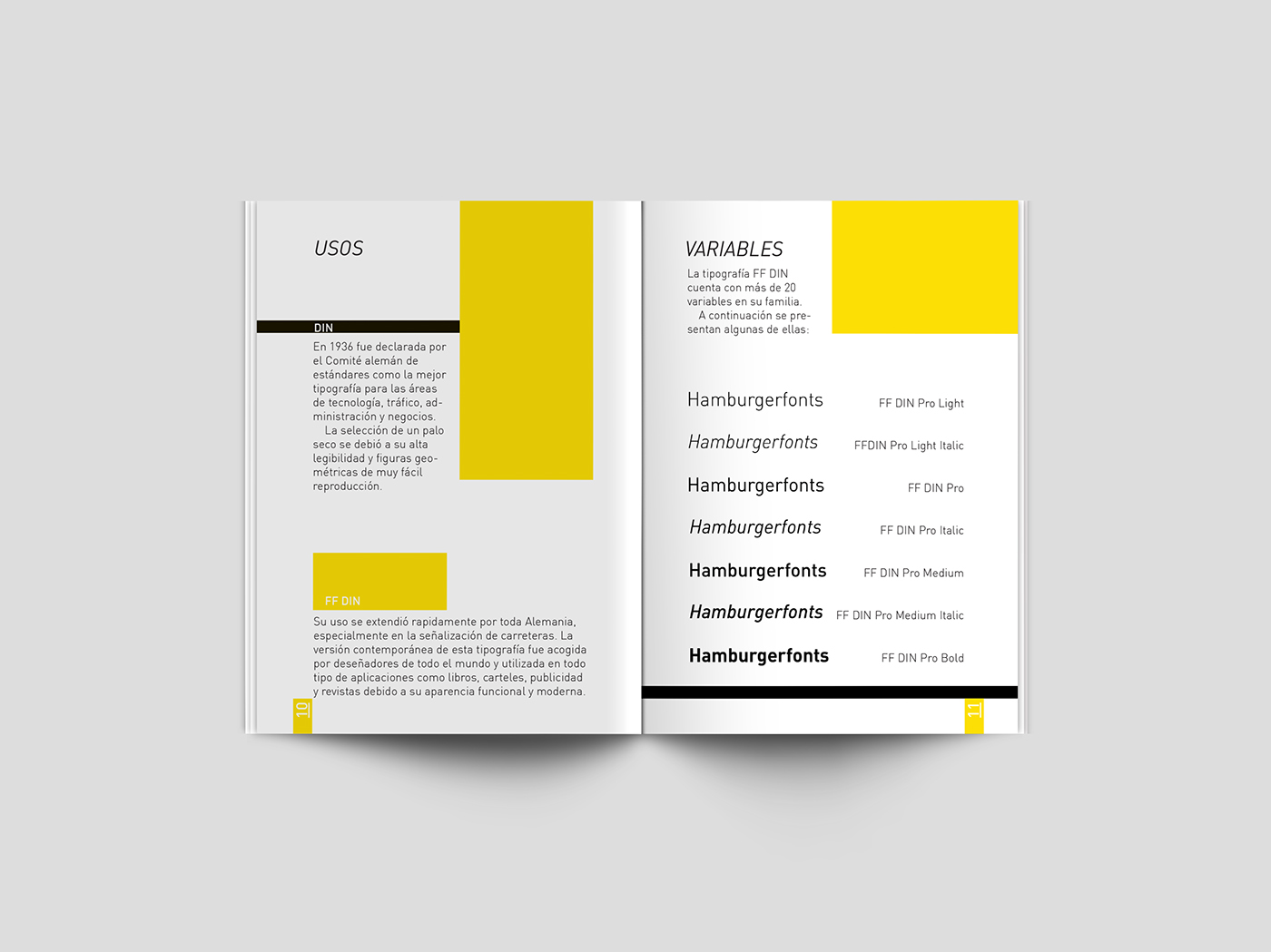 Manual Tipográfico DIN on Behance