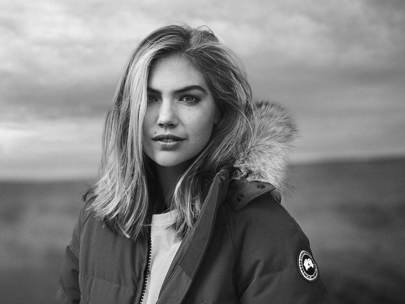 Kate Upton Canada Goose On Behance
