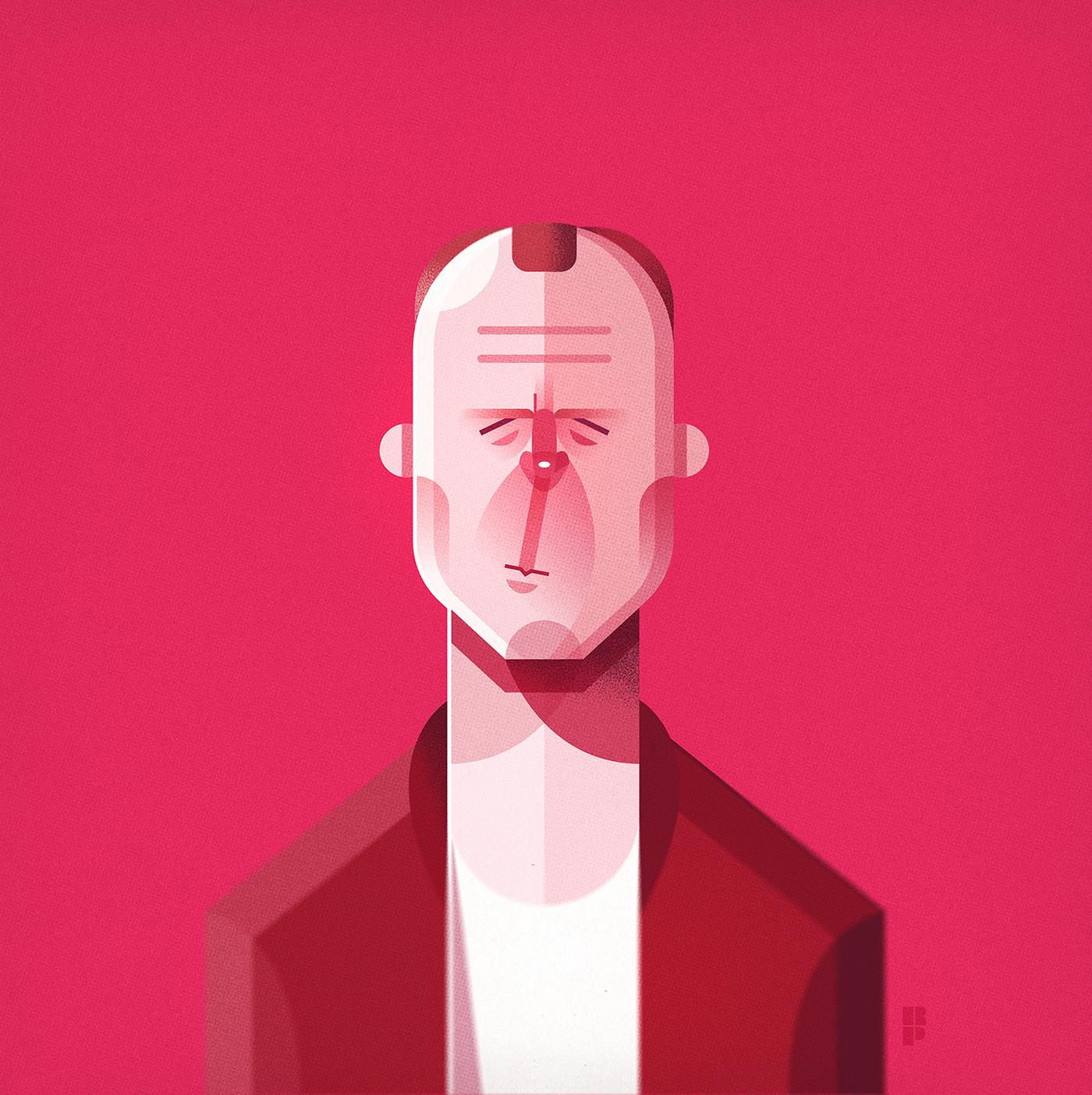 Image may contain: cartoon, drawing and human face