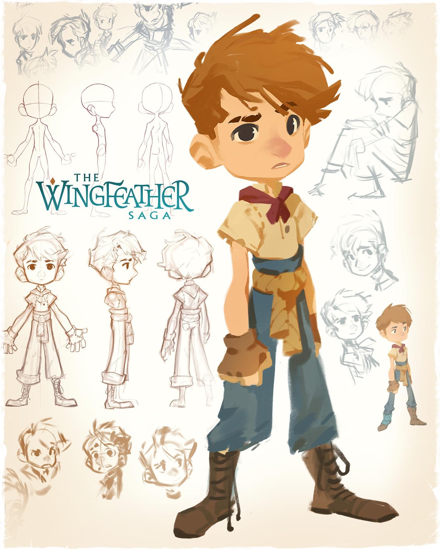 Character Design Principles : Wingfeather saga principle cast on behance