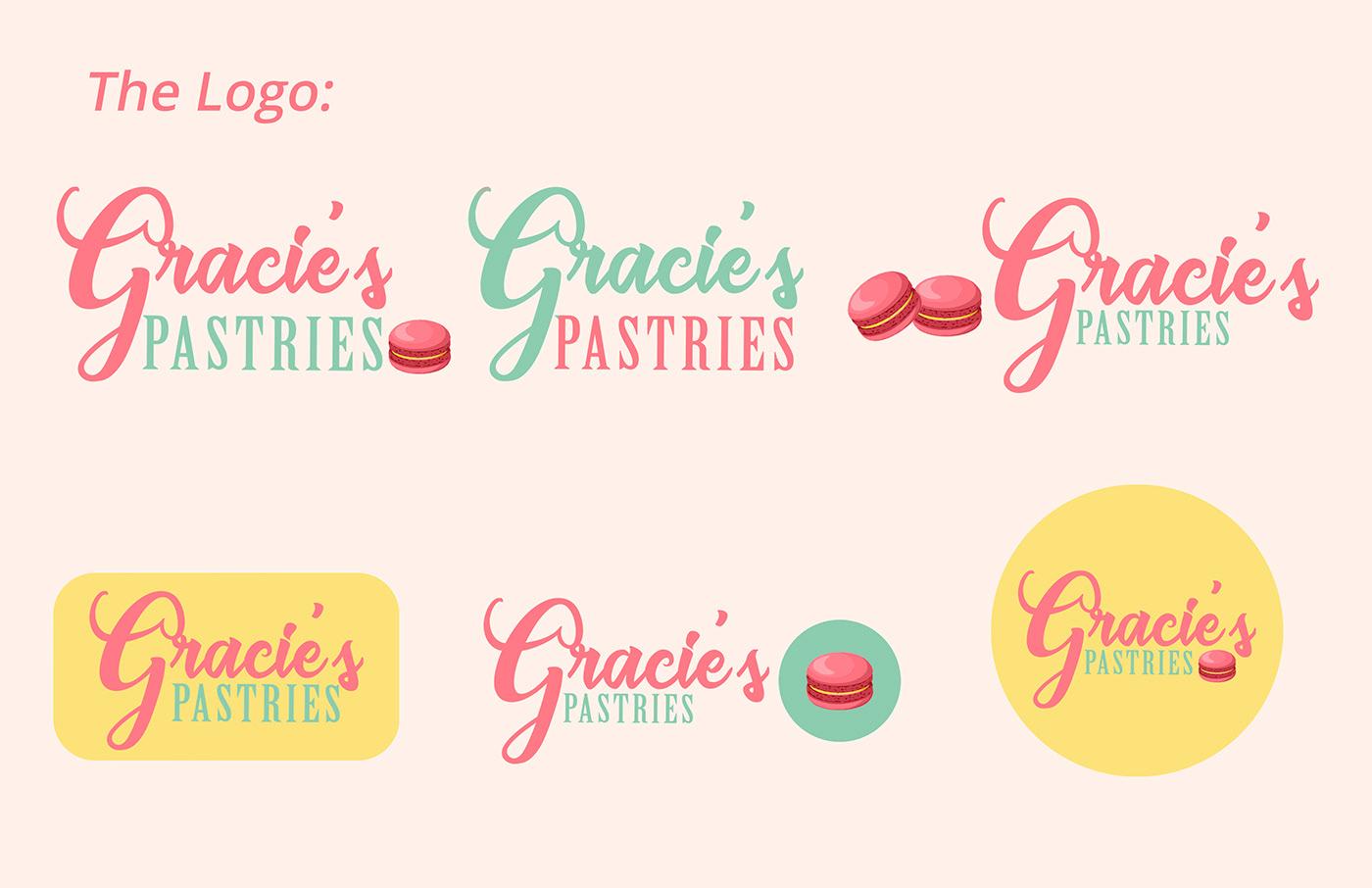 bakery graphic design  logo Logo Design product design