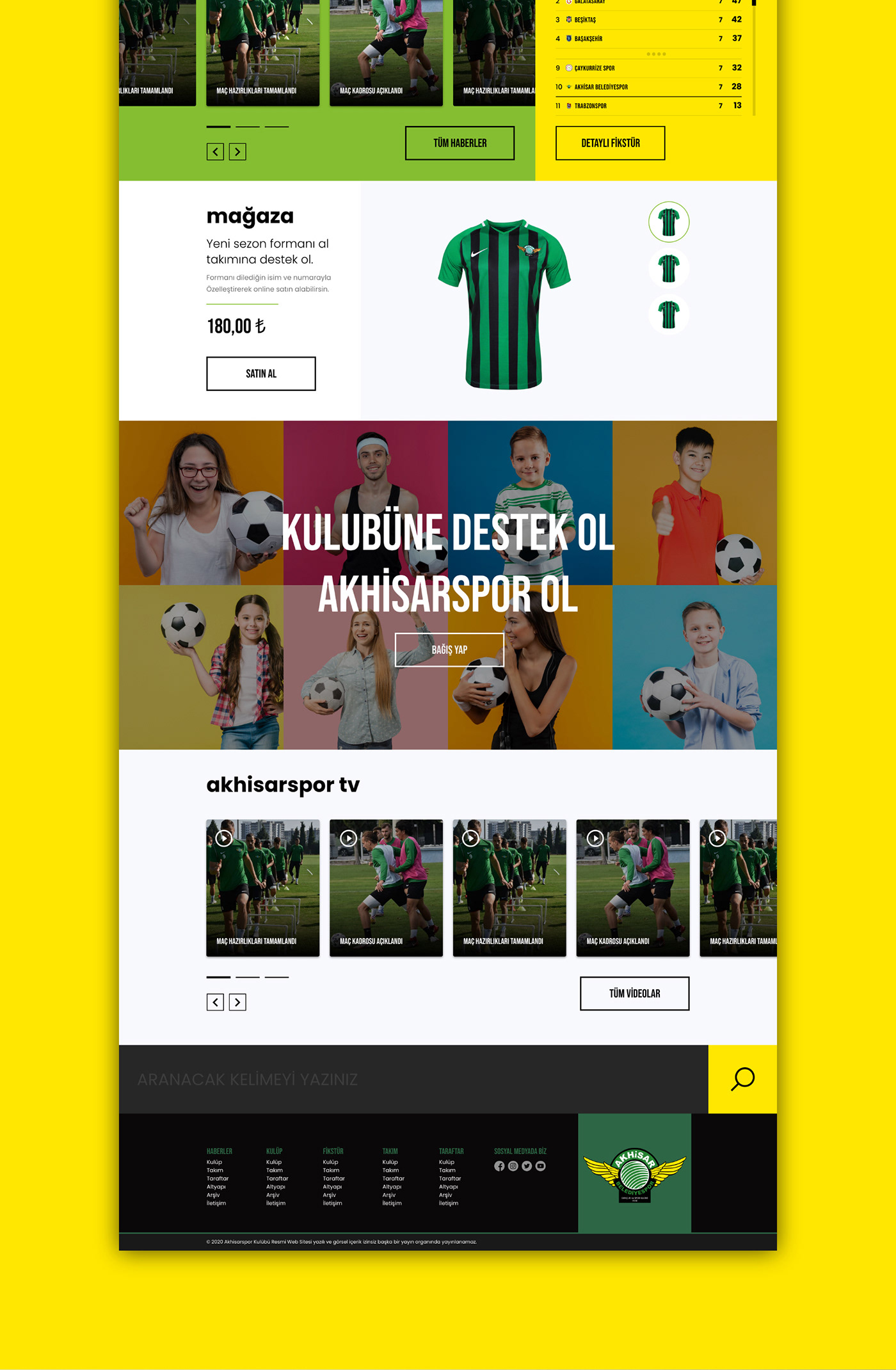 Soccer team,UI,user experience,user interface,ux,Web Design ,Website
