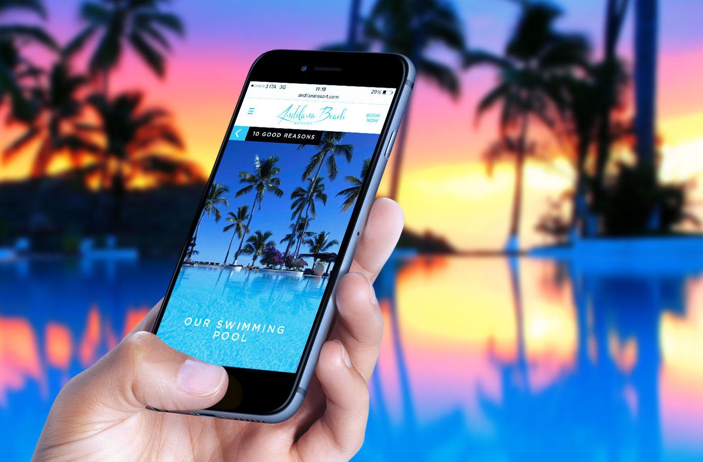 andilana madagascar resort nosybe tour lemur hotel Holiday mobile app iphone