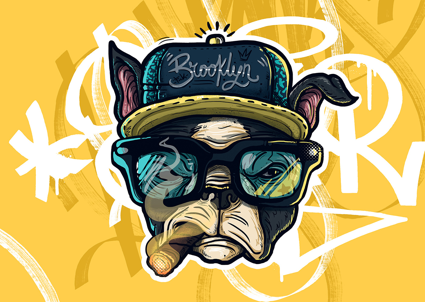 ILLUSTRATION  Character design  Cali guacala personajes Behance colombia poster