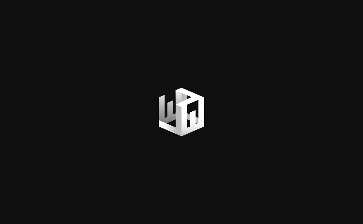 logo logofolio jw branding  brand black White