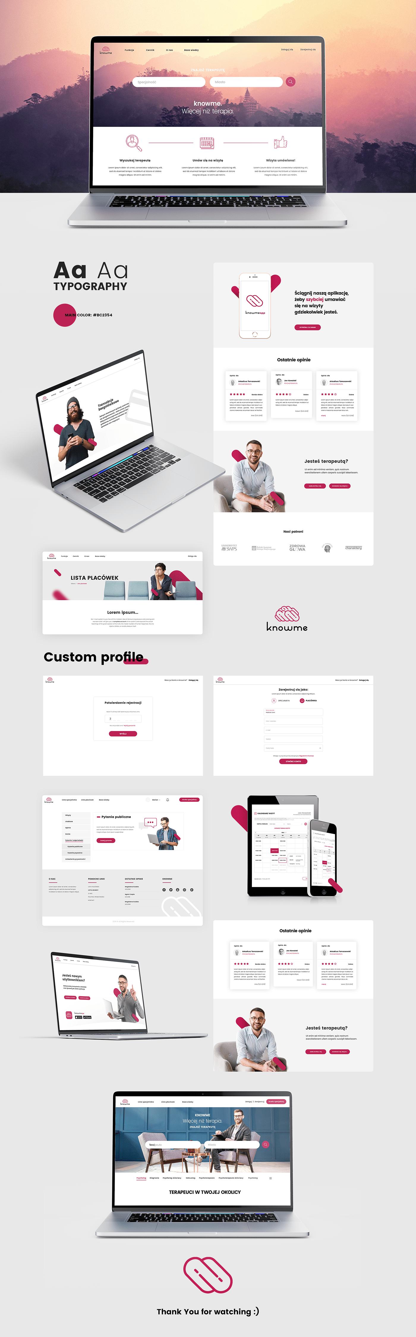 projekt strony Web Design