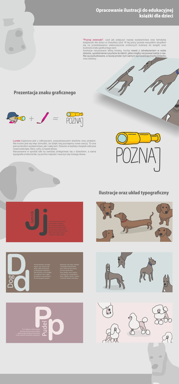 print book ILLUSTRATION  dog brand
