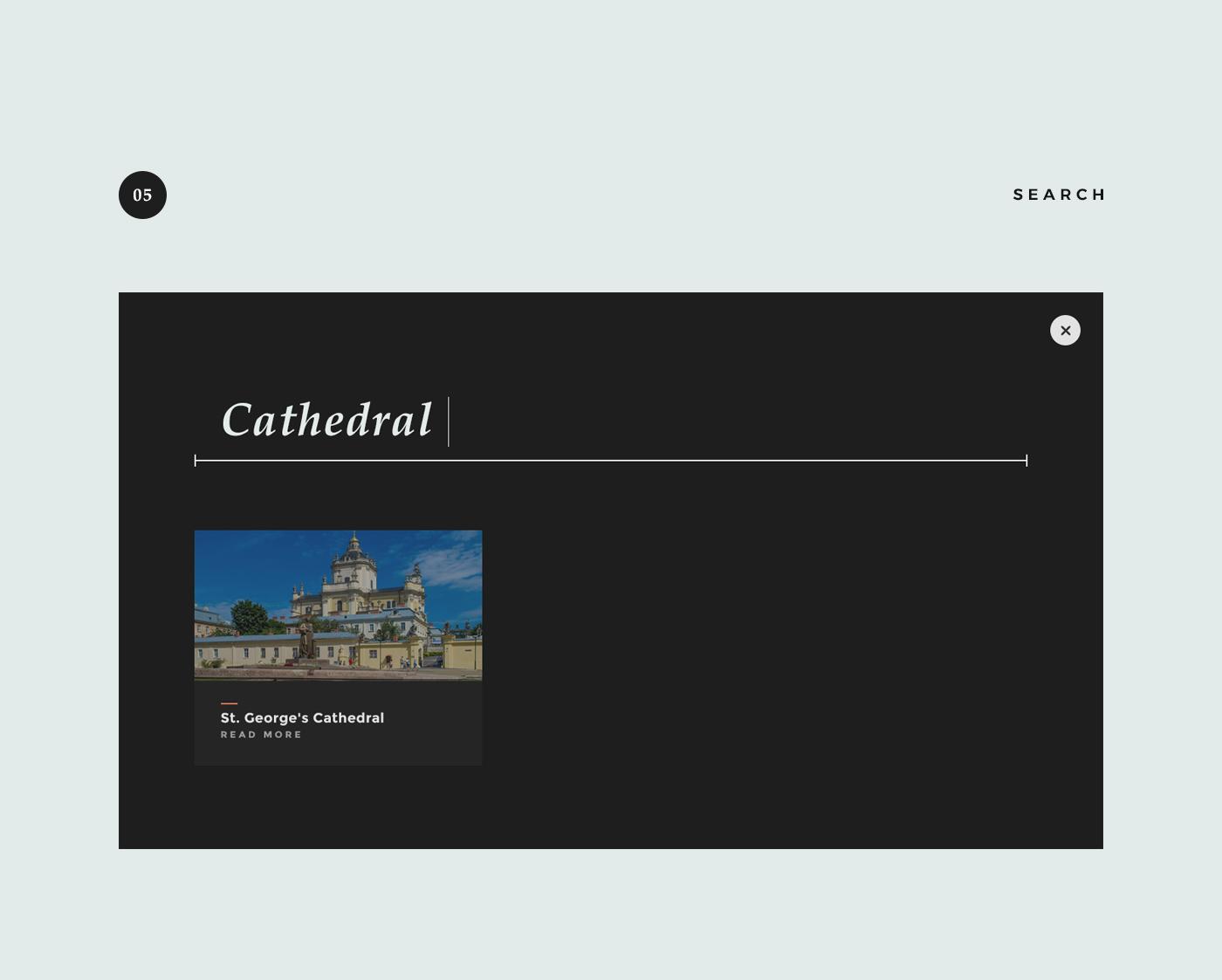 Web Design ,concept,Lviv,lion,ukraine,architecture,architect,modern,minimal