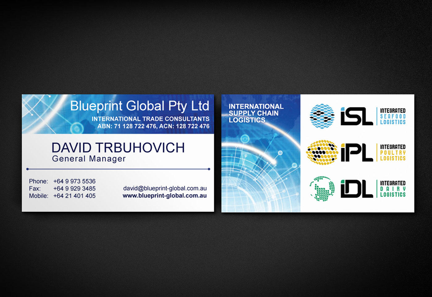 Blueprint global logistics rebrand on behance before malvernweather Image collections