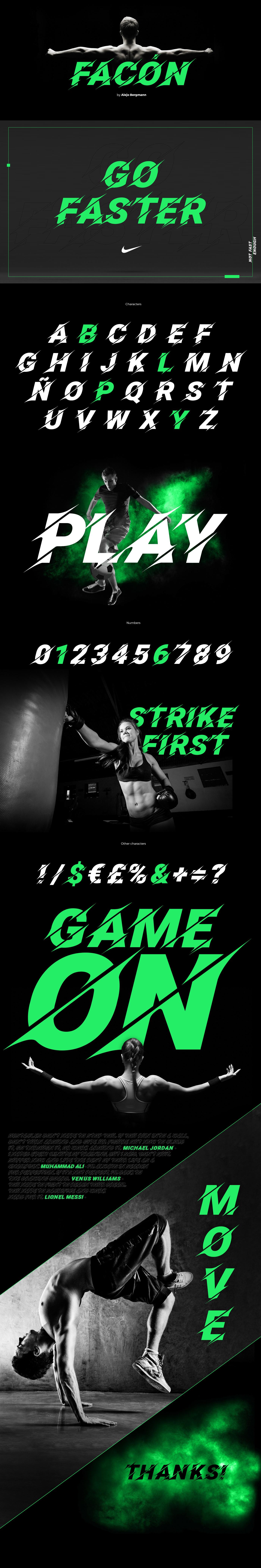 type sport free download font cut football speed typography   freebie