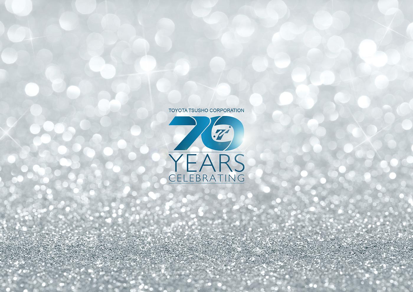 toyota Tsusho 70th celebrating