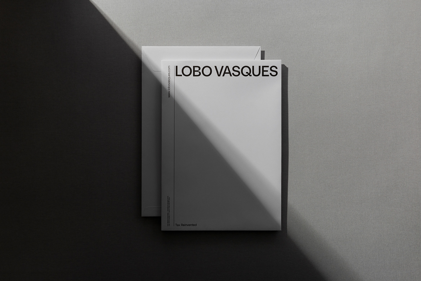 branding  corporate lawyer legal company lobo vasques Office stationary visual