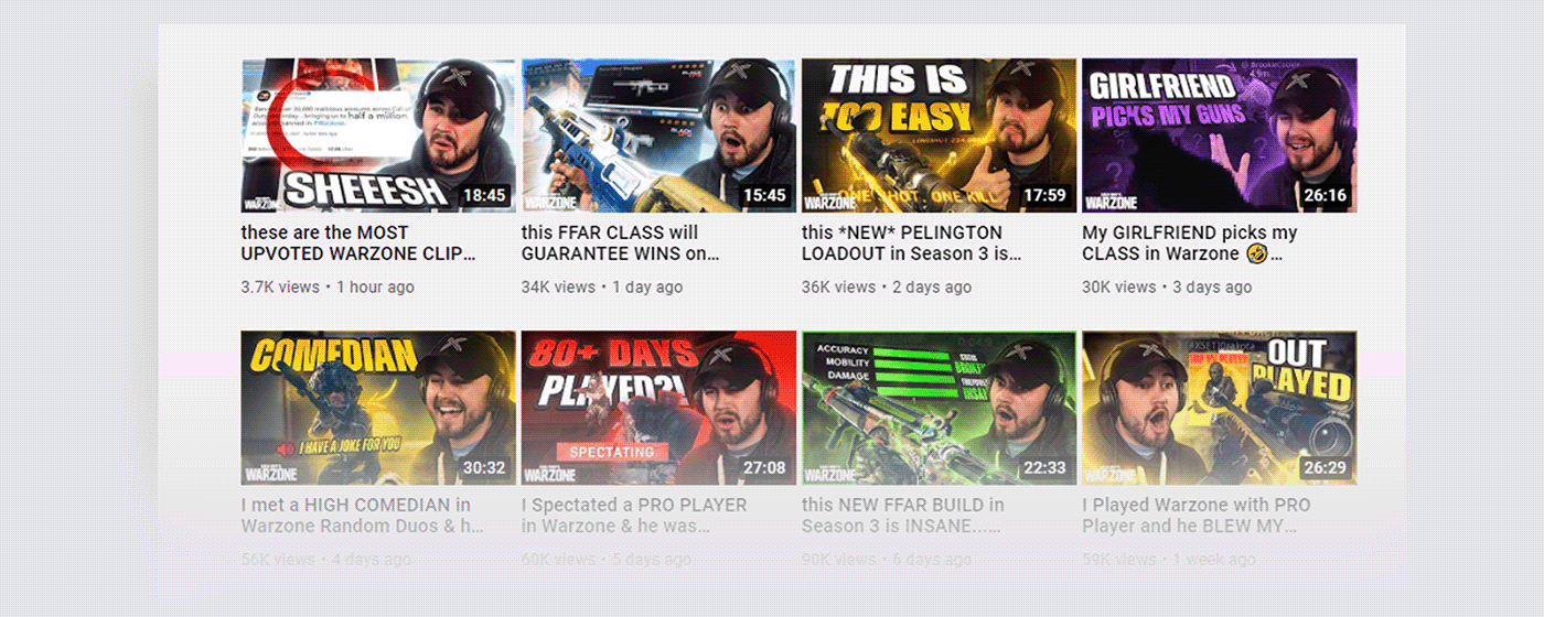 animated graphics call of duty gaming designs Gaming Thumbnails livestream graphics Social Media Collection twitter header warzone YouTube banner Youtube Thumbnails