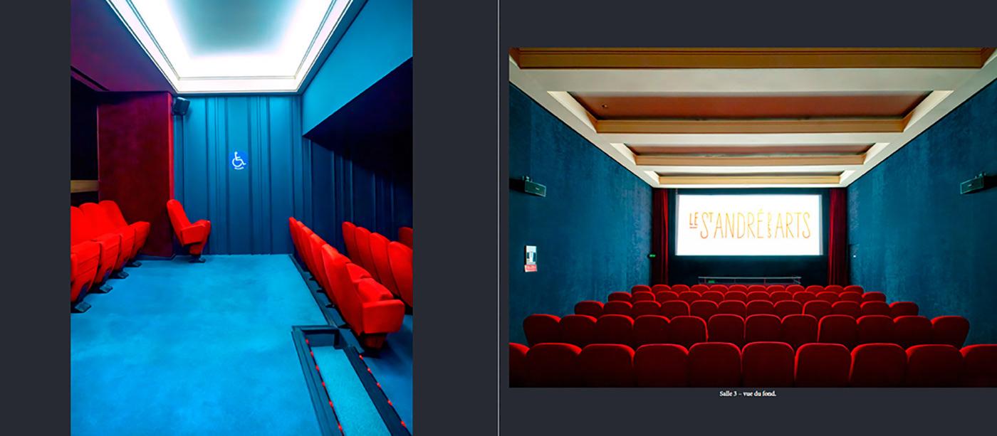 architecture Cinema france Paris