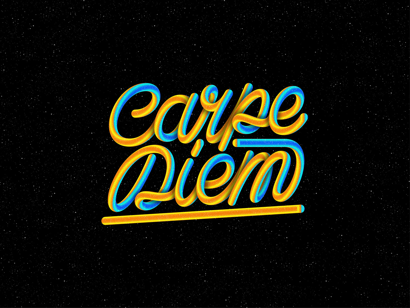 3D art Calligraphy   colors digital fonts lettering Logo Design typography   vector