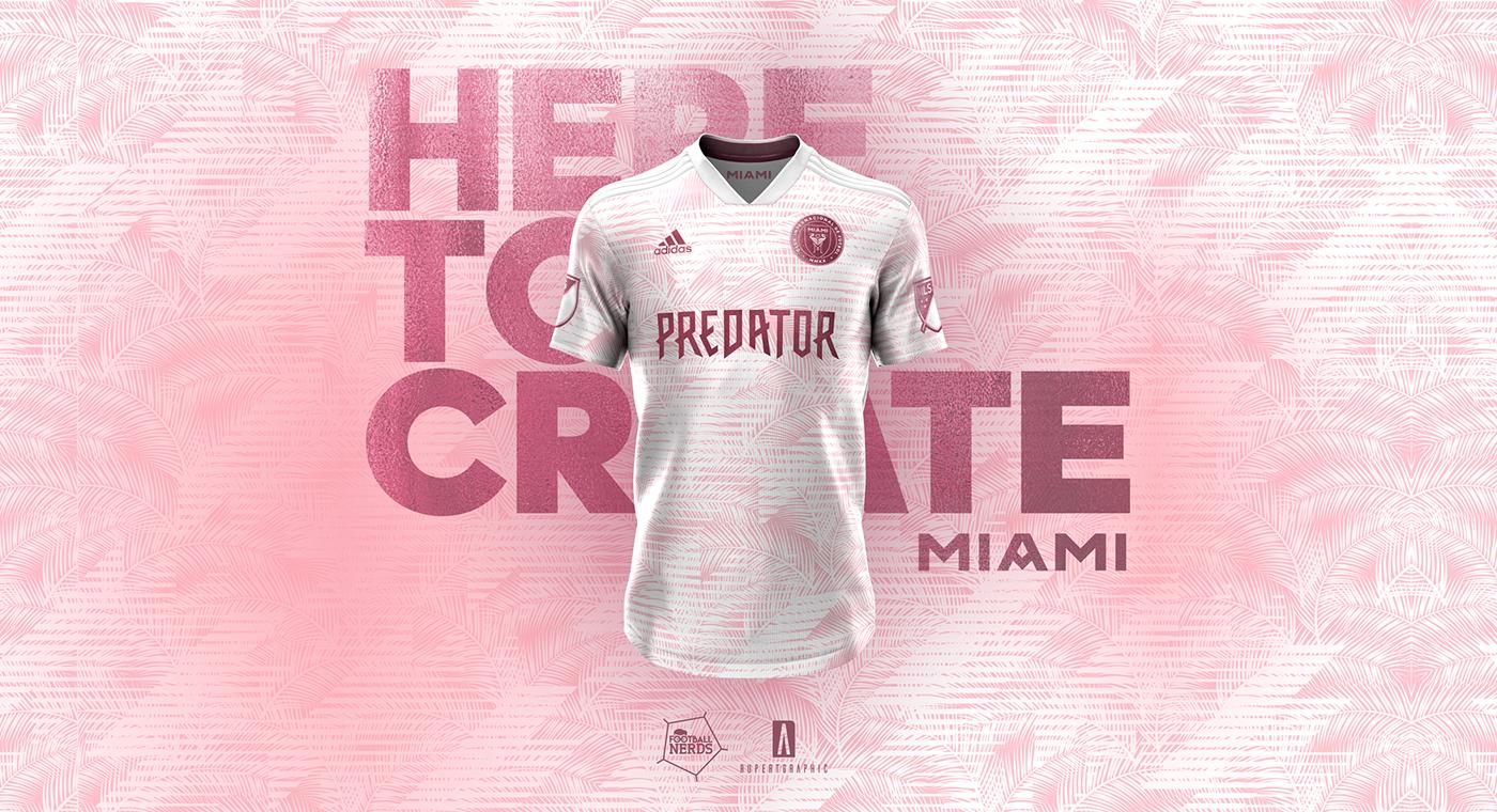 premium selection faba9 a9242 Inter Miami CF | Concept x Football Nerds on Behance