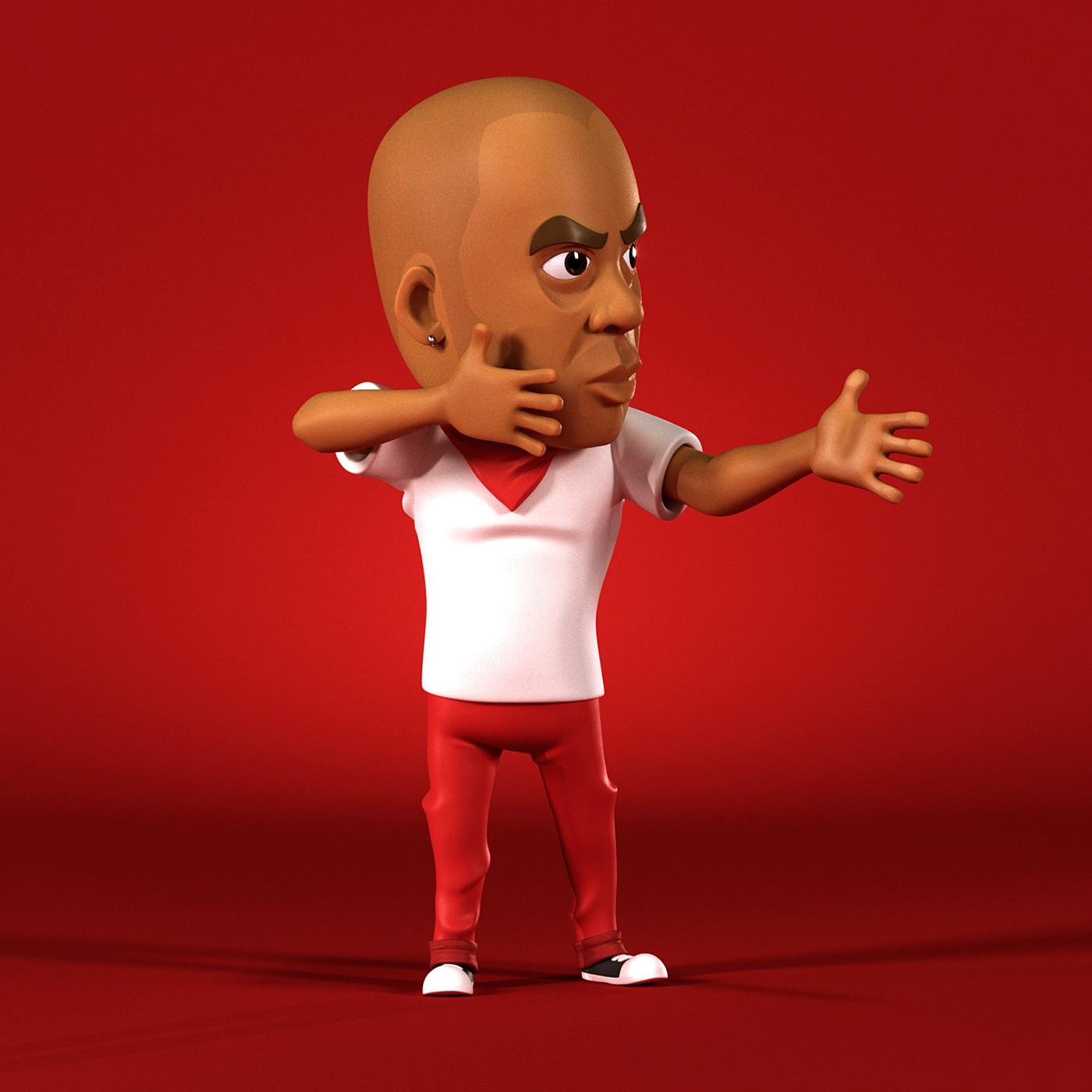 carictura cartoon Gog hip hop mascote music nacional rap