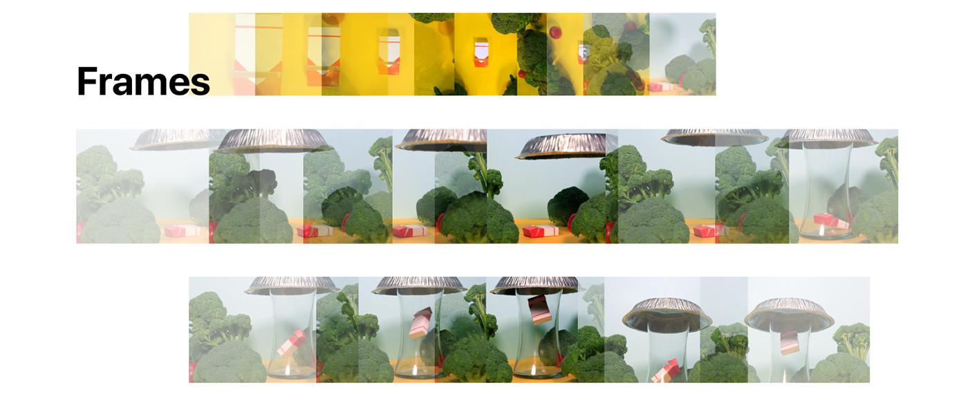 smoking motion graphicdesign thesis fiction Photography  Miniature humor Parody adobeawards