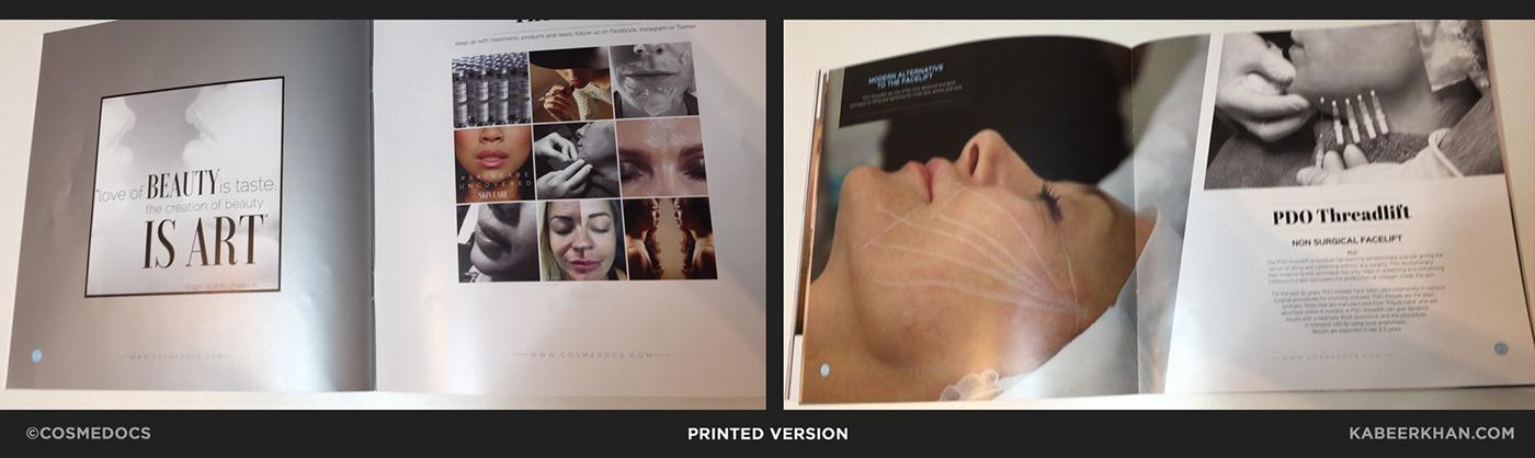 fashion brochure printing