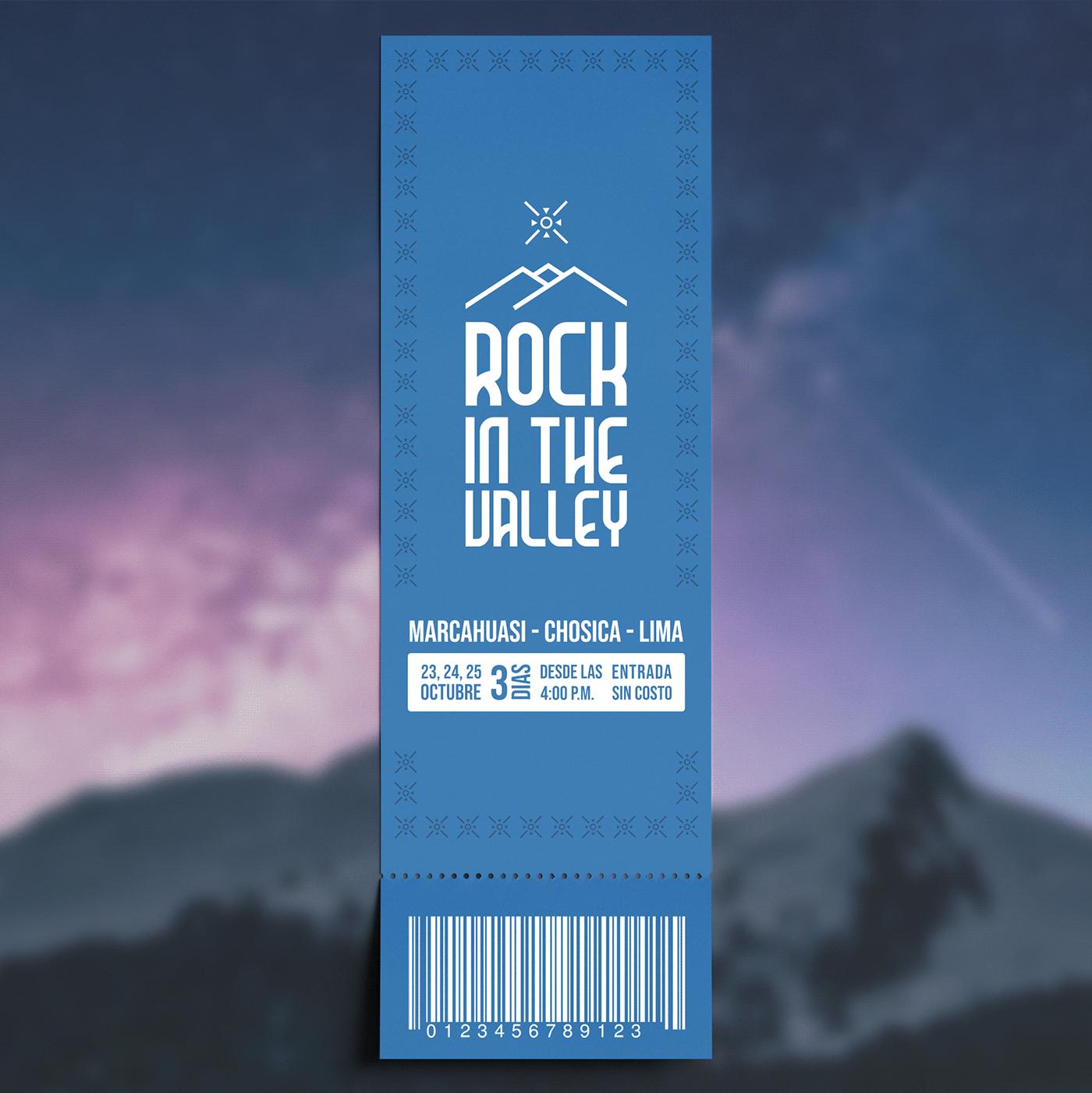 design festival logo Logotipo musica poster rock