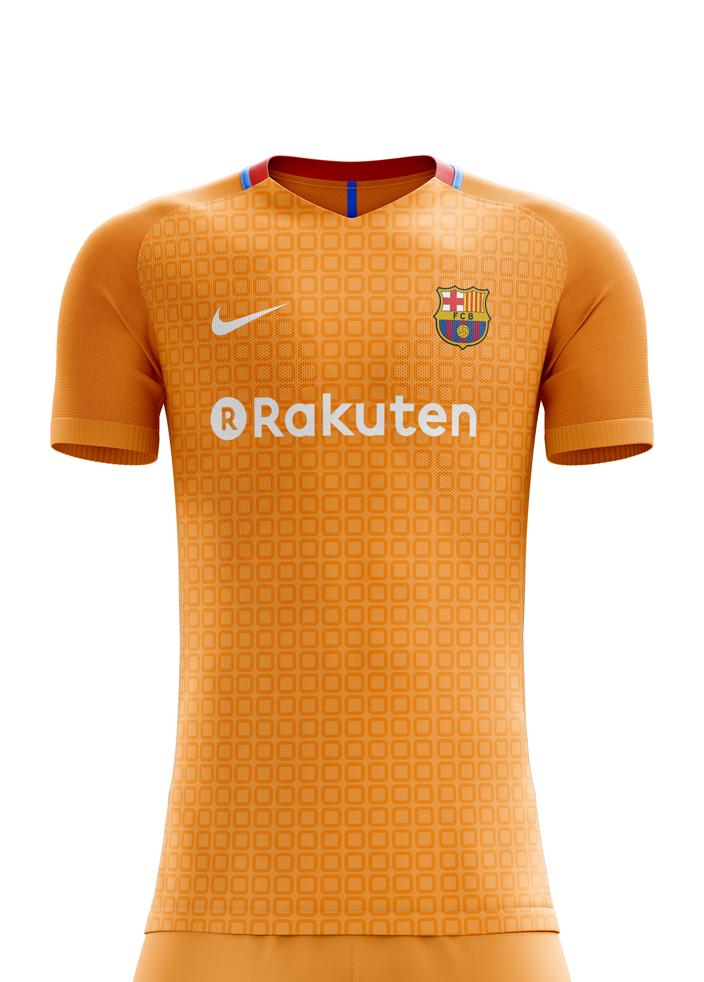 I designed football kits for FC Barcelona for the upcoming season 18 19. bdf15997d0744