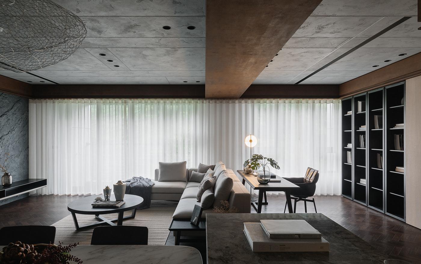 23design architects decoration Interior residential 二三設計 室內設計 居家裝飾 建築 空間攝影