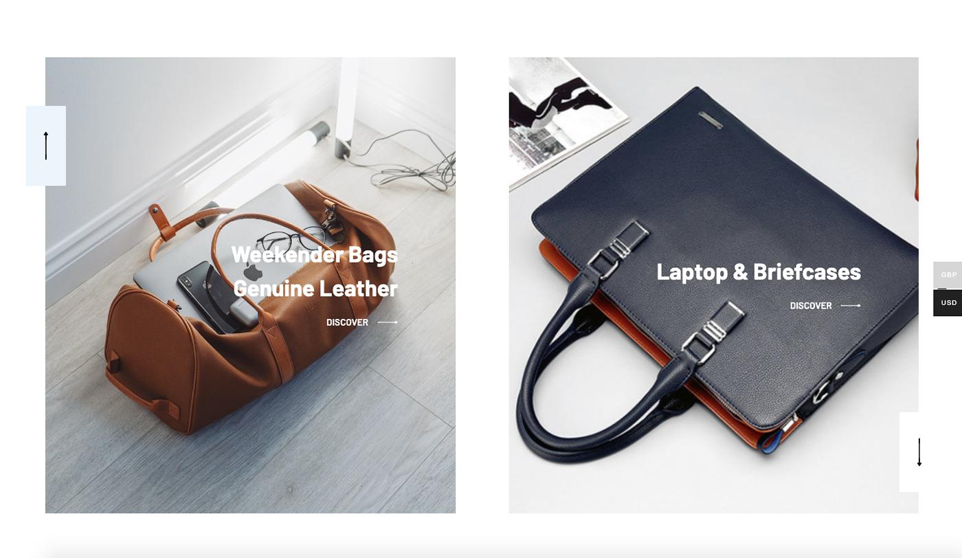 online store ui design web deisgn