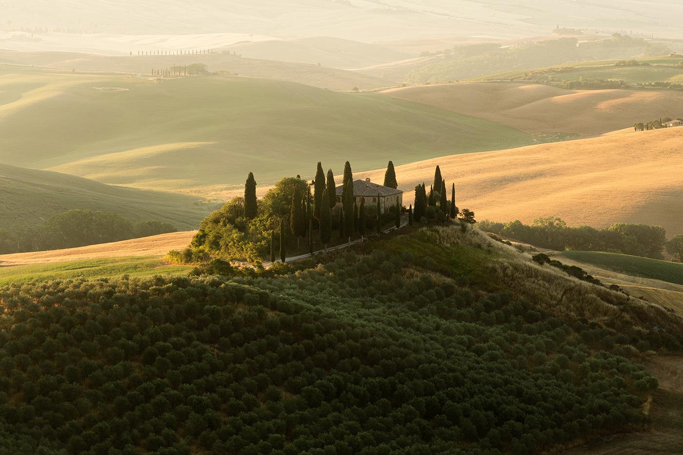 Landscape lightroom Nature Photography  Tuscany hills Sunrise sunset travel photography ValD'Orcia